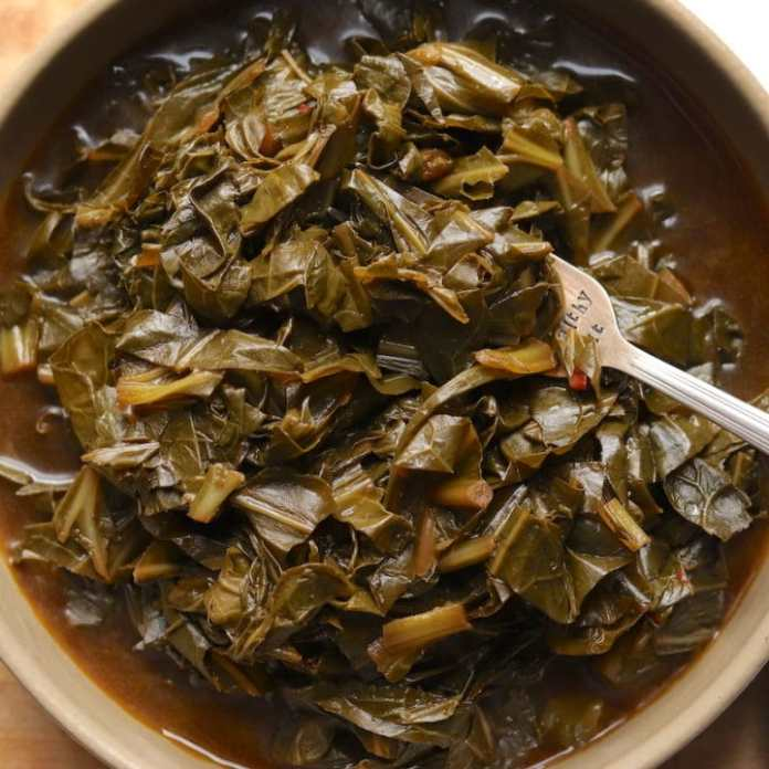 Vegetarian Southern Style Collard Greens The Hungry Hutch