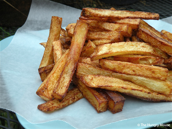 Super Simple French Fries at The Hungry Mouse