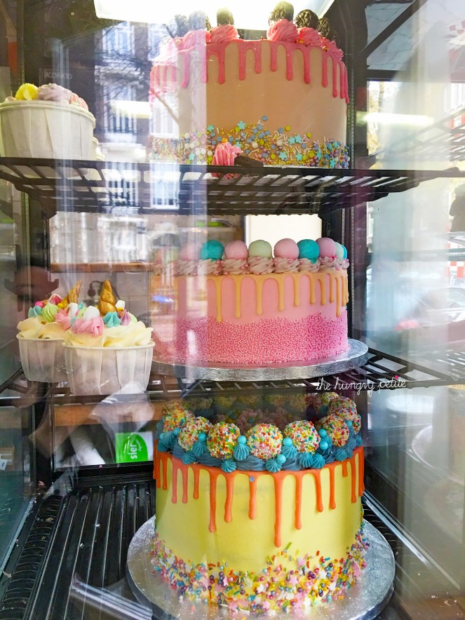 They also sell really pretty cakes