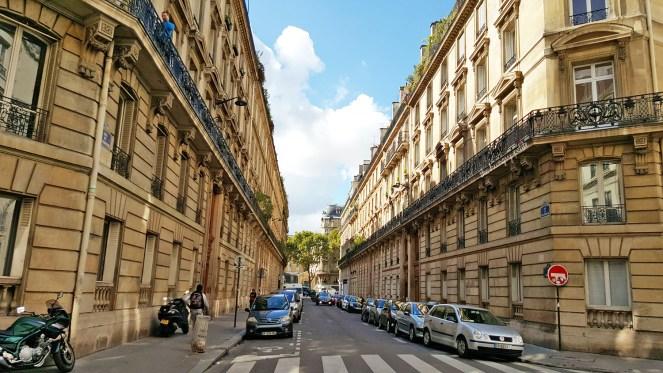 Random beautiful street in Paris