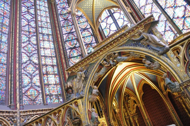 Amazing stained glass panes