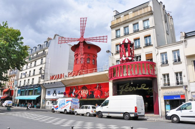 The infamous Moulin Rouge