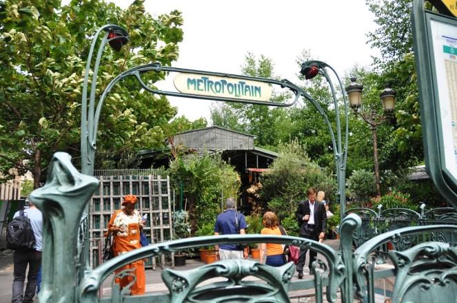 Even their Métropolitain entrances are beautiful
