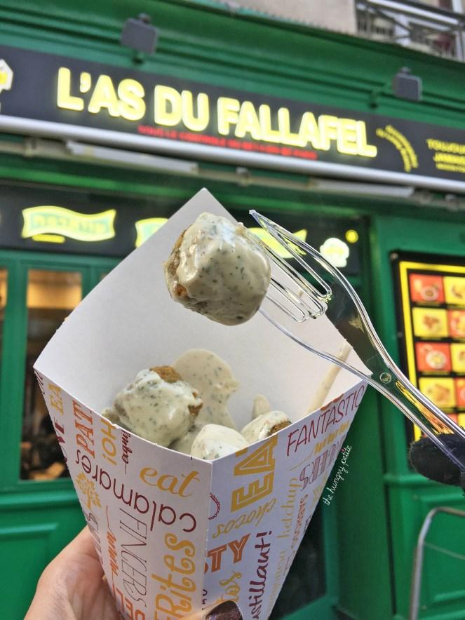 Falafel balls to go. 10 for 3,5€