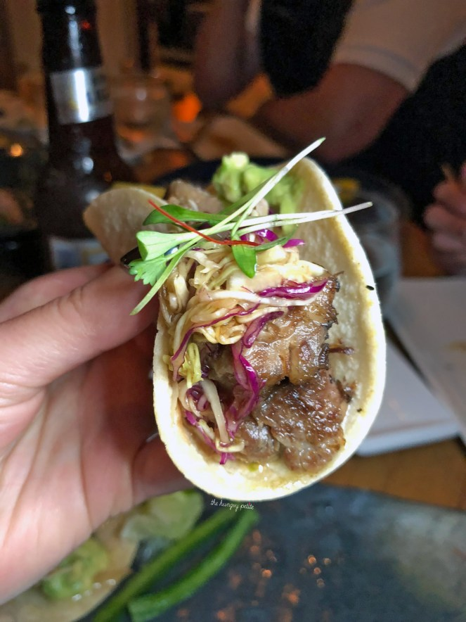 Kobe Beef Taco. Obviously not actual Kobe beef, but it was a very tasty taco.