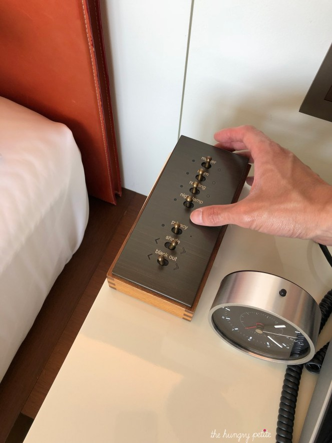 Room lighting controls