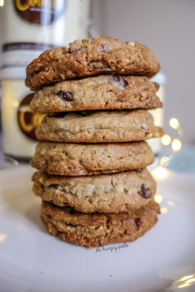 Thick, soft, and chewy chocolate chip cookies!