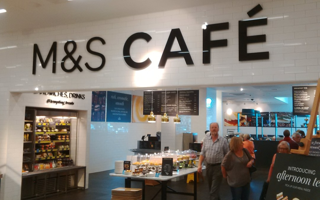 Fresh new look for M&S Cheshunt Customer Cafe