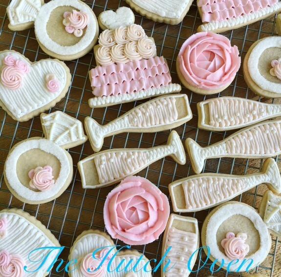 Wedding/ Bridal Shower Cookies