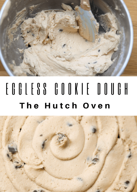eggless cookie dough chocolate chip