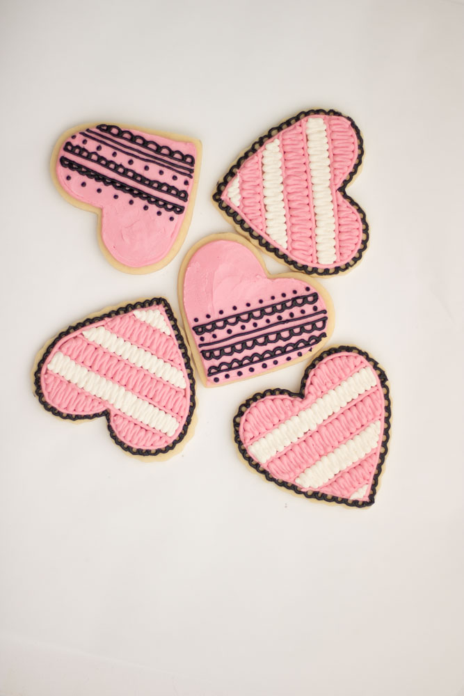 valentines day cookies with lace the hutch oven