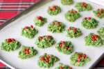 Marshmallow Holiday wreath treats