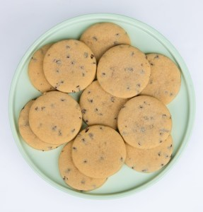 chocolate chip cut out cookies, recipe by emily hutchinson