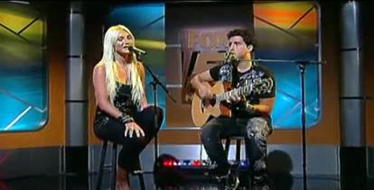 Brooke-Hogan-Colby-O-Donis-Hey-Yo-live