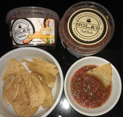 La Nina Tortilla chips and NoLa's salsa