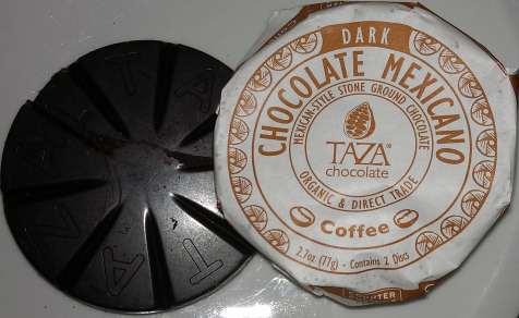 Taza Chocolate discs