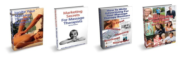 "Get more clients for your massage business...and keep them coming ""back"" (pun intended!)"
