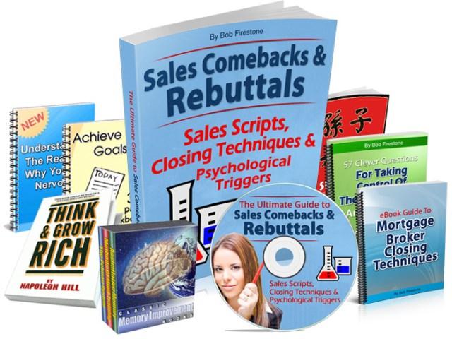 sales rebuttals training audios