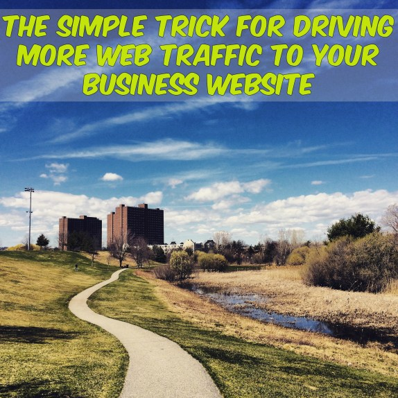 more Web traffic to your business website