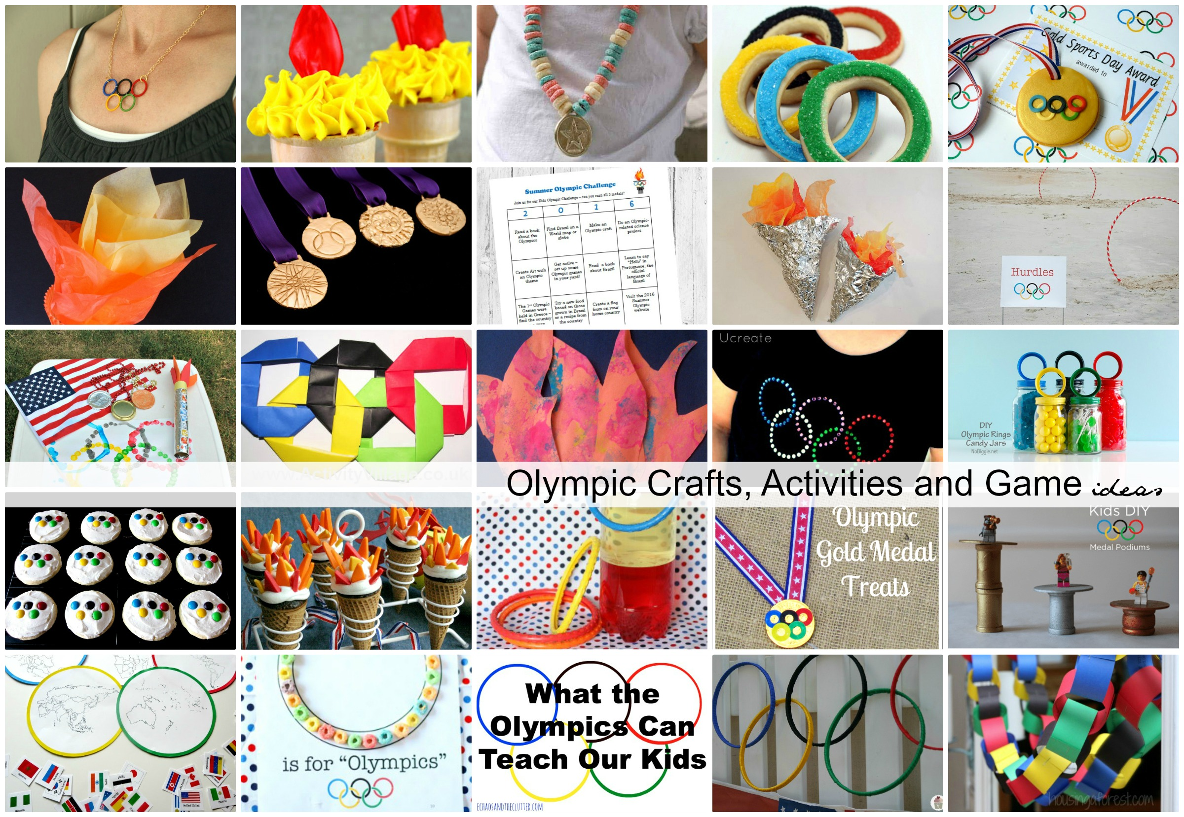 Olympic Crafts Activities And Game Ideas