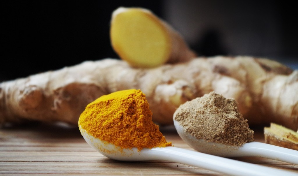 ginger and turmeric, wellness trends