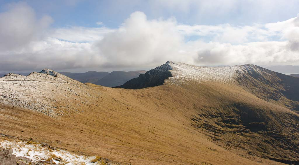 Hiking Mount Brandon on the Dingle Peninsula