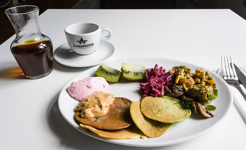 Vegan and vegetarian restaurants in Riga