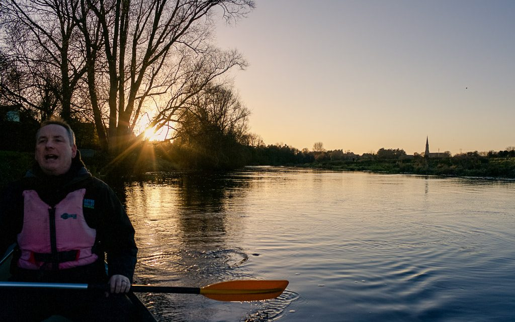 Kayaking on the River Boyne, eco tourism
