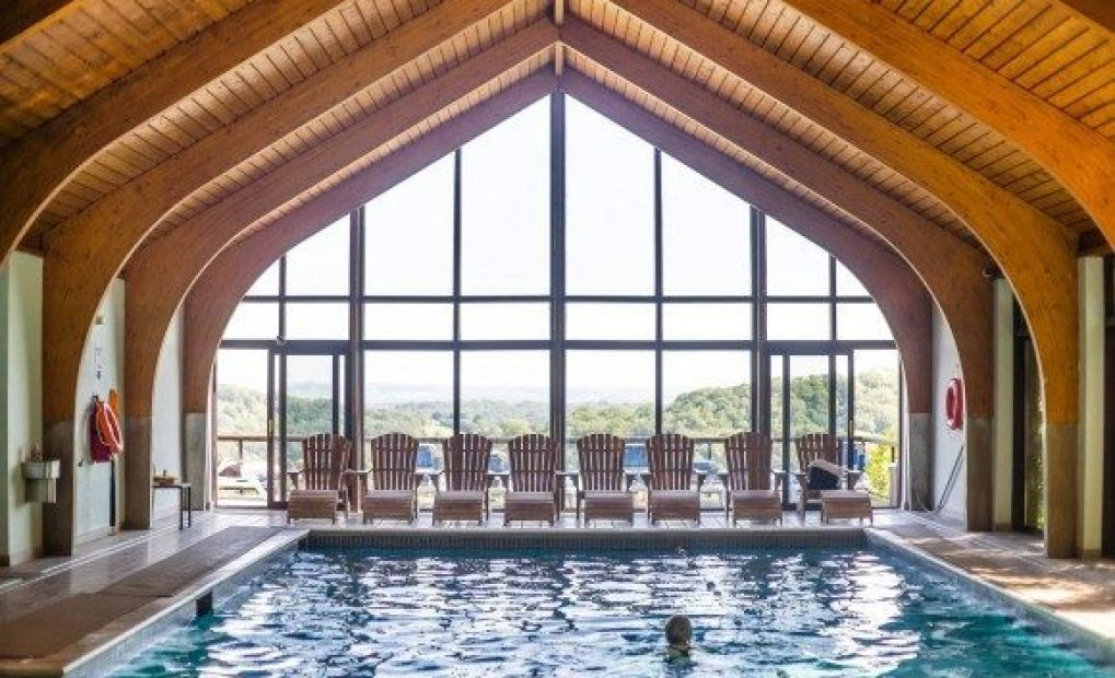 Swimming pool at the Club, Combe Grove