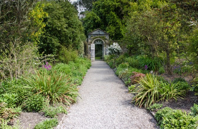 Garnish Island, walled garden