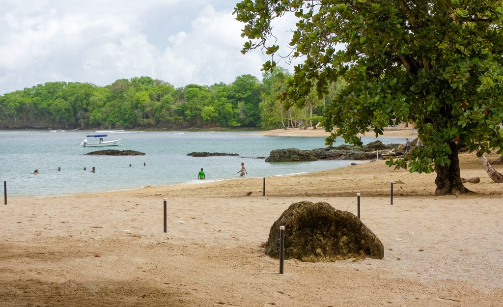 Mt Irvine beaches in Tobago, Caribbean