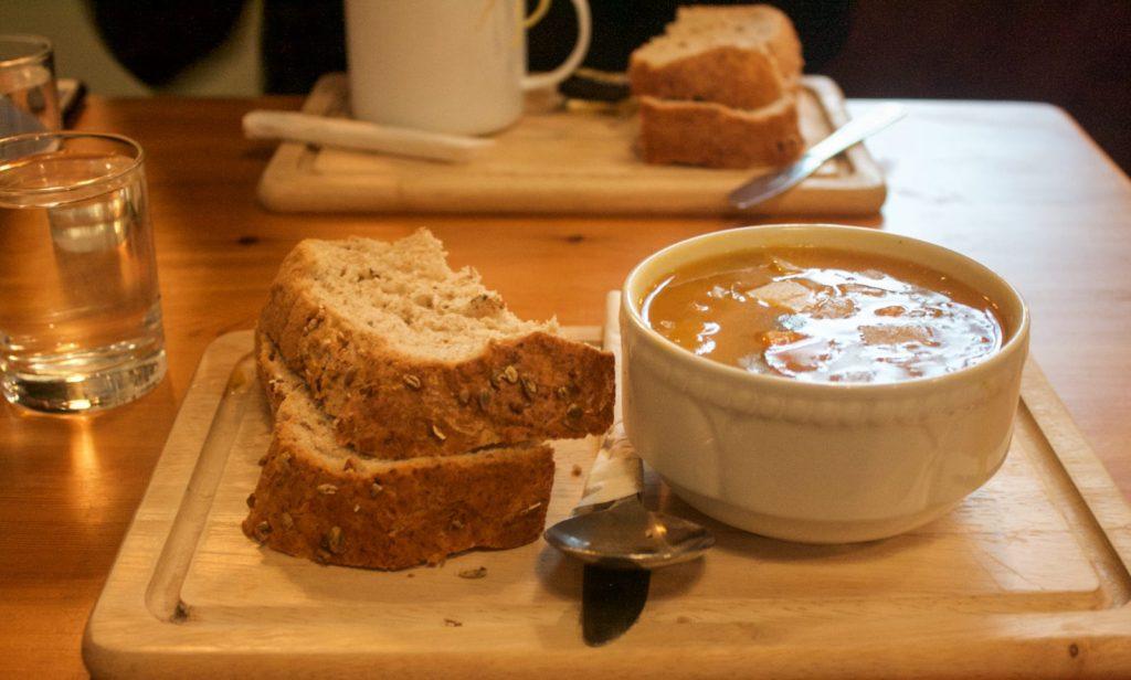 Crumbs Kitchen, vegetarian and vegan restaurants in Cardiff