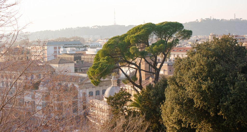 running routes, running in Rome