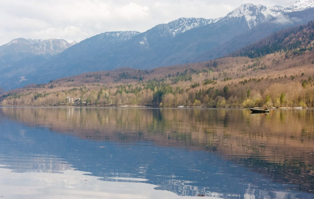 Lake Bohinj, hiking in Slovenia