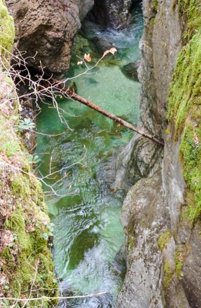 Mostnica Gorge, Voje Valley in Slovenia