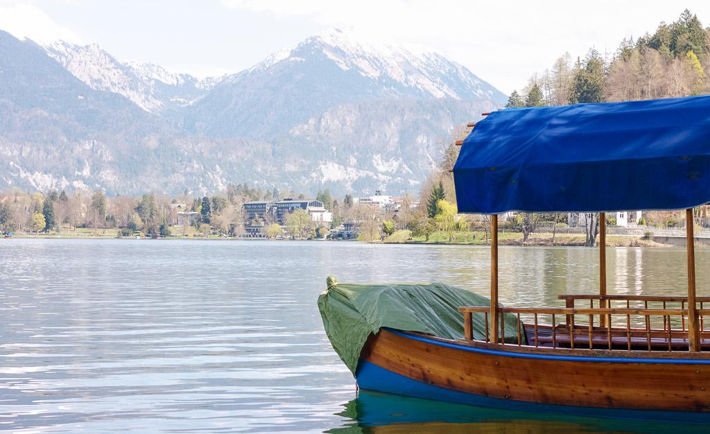 pletna boat, Slovenia