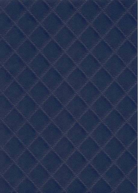 simili cuir diamond bleu marine
