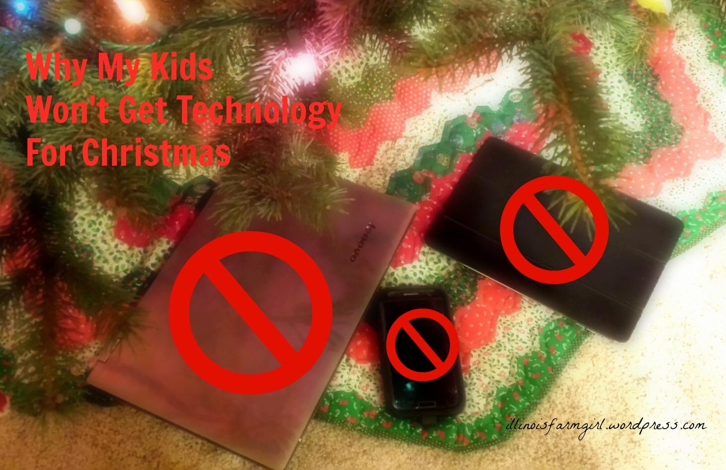 No Tech for Christmas