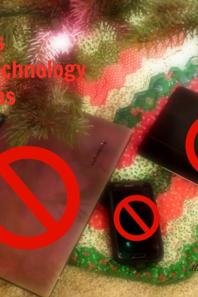 Why My Kids Won't Get Technology for Christmas