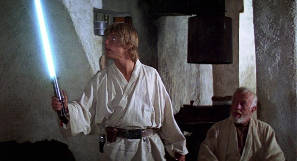 Luke Skywalker Obi-Wan Kenobi