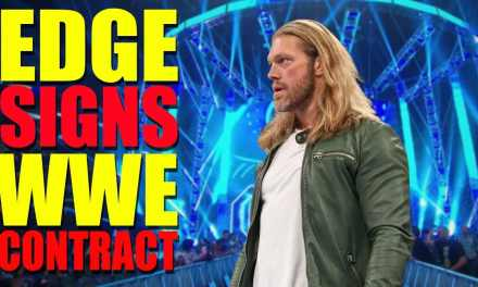 Edge Reportedly Set For In Ring WWE Return In 2020