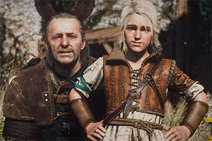 mark hamill as vesemir in the witcher