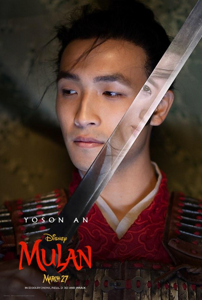 Mulan Character Poster - Chen Honghui