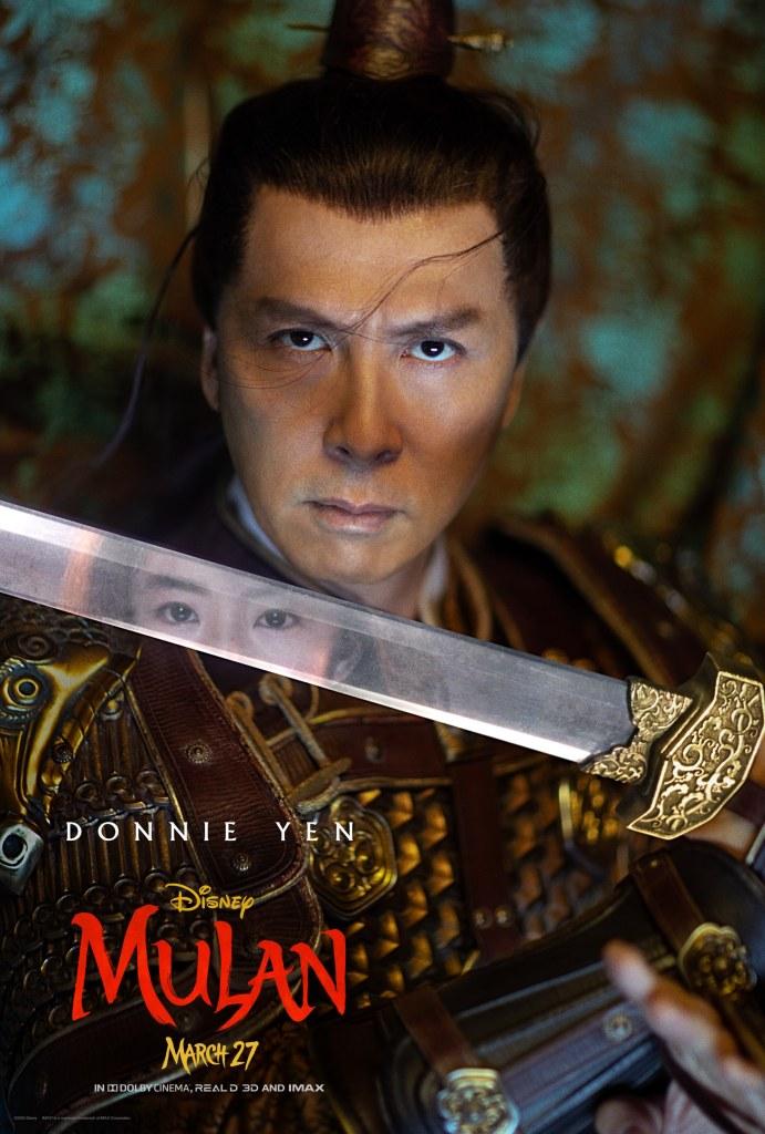 Mulan Character Poster - Commander Tung