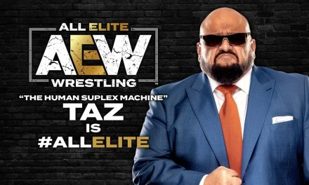 Former Wrestler And Commentator Taz Signs Multi-Year Contract With AEW