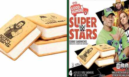 WWE Ice Cream Bars Are Back With A Vengeance!