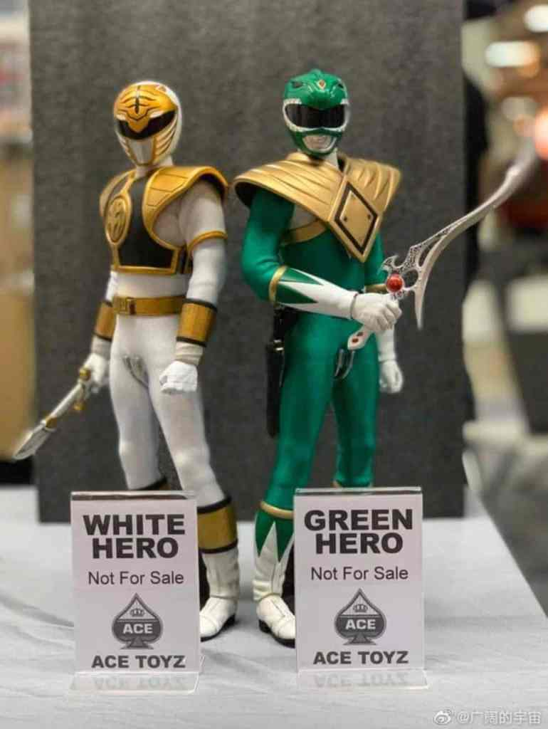White Ranger Ace Toyz