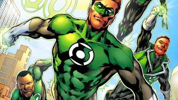 Green Lantern Corps in Flight