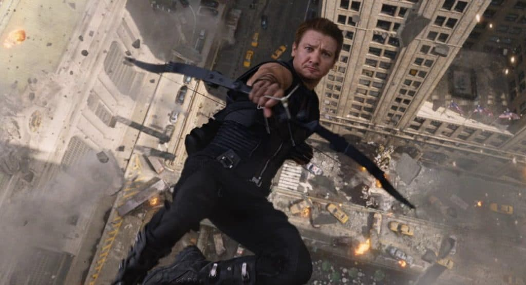 Hawkeye Jeremy Renner The Avengers 2012