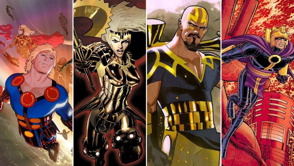 Marvel The Eternals Characters